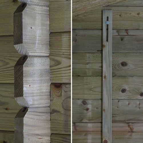 abri de jardin en bois de 10m chamonix
