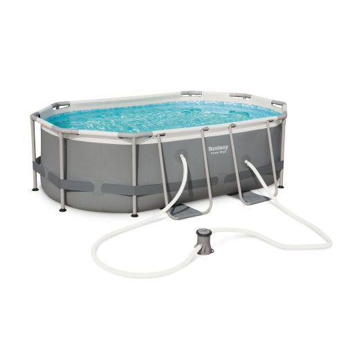 piscine ovale tubulaire 3x2m bestway