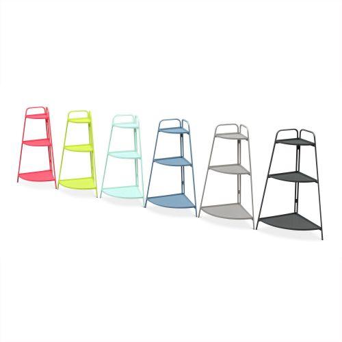 etagere d angle meuble de rangement alicia