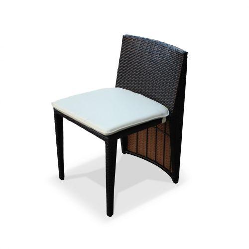 table de jardin duo en resine tressee doppio