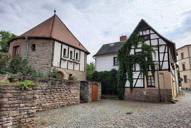 Malerische Altstadt in Zeitz