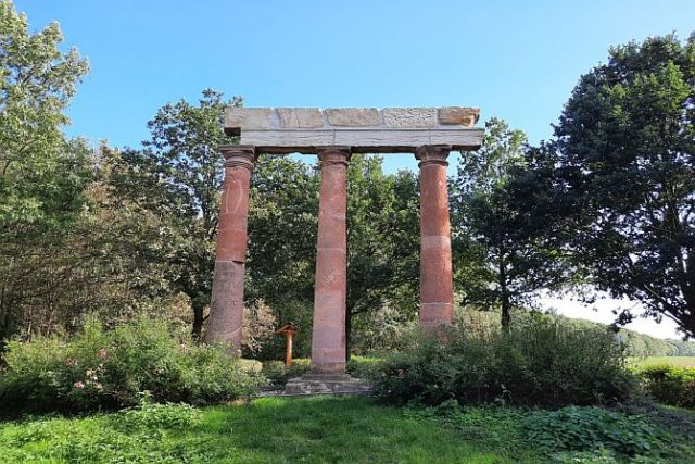 Das Trianon zu Eythra