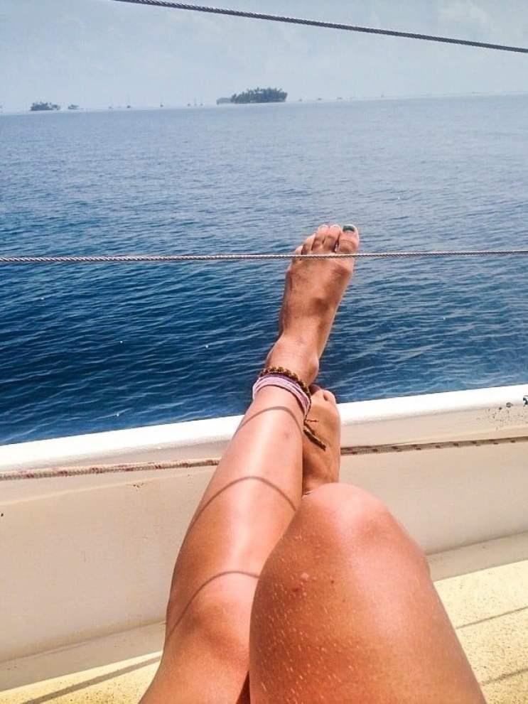 sailing through the san blas islands