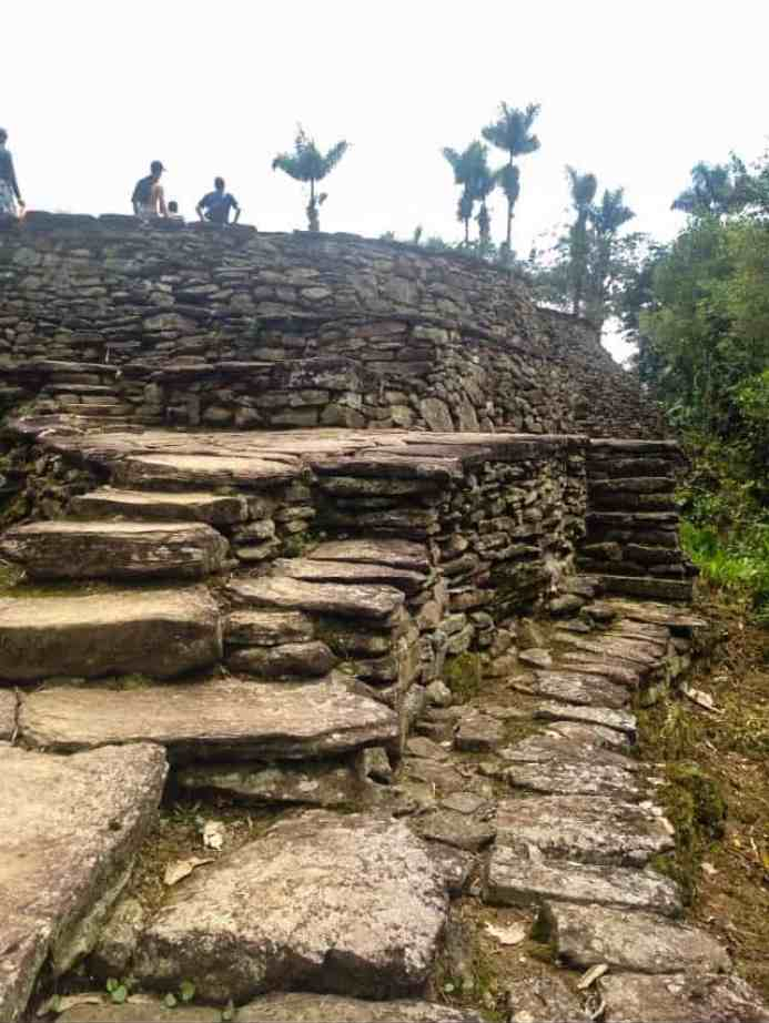 colombia's lost city architecture on the lost city hike colombia
