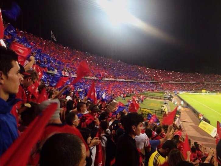 football match medellin
