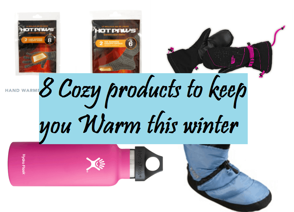 8 Cozy products to help keep you warm this winter