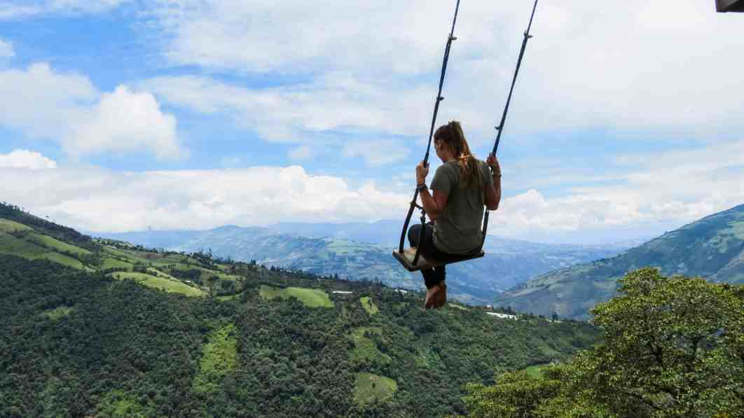 Swing at the end of the world la case del arbor ecuador