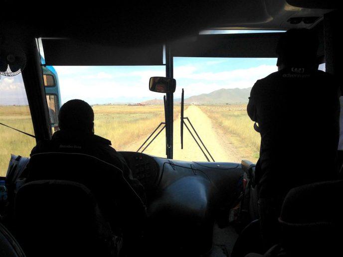 bus to Cusco Peru