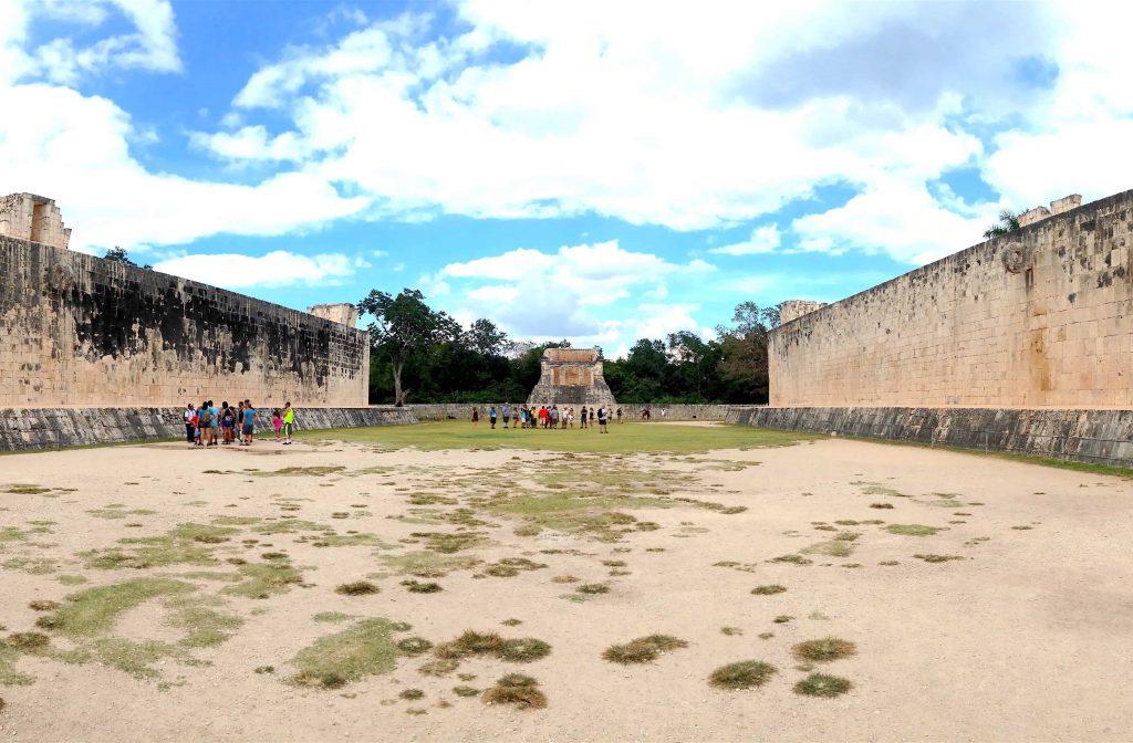 Ball court in Chichen Itza