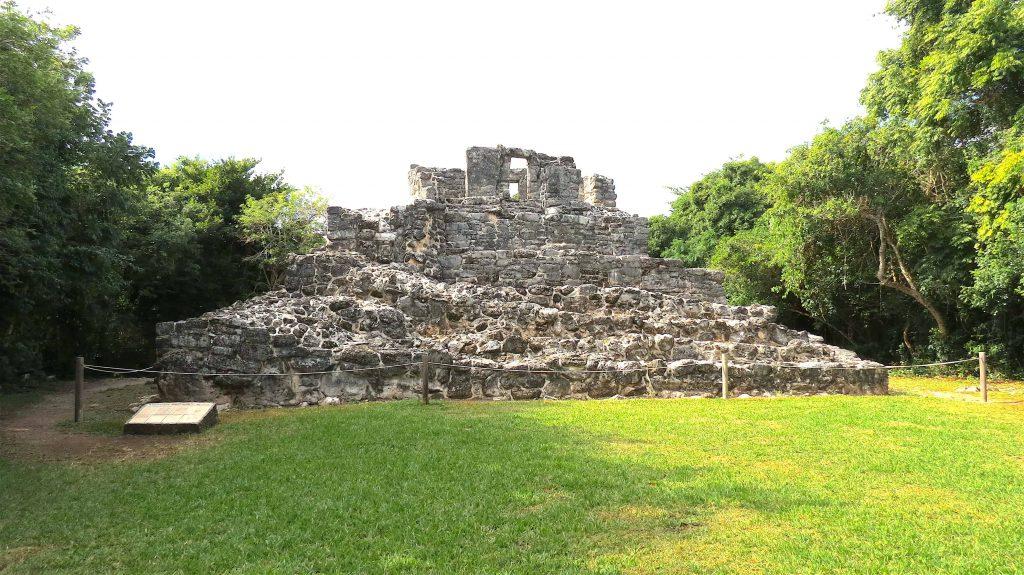 San Gervasio Ruin pyramid