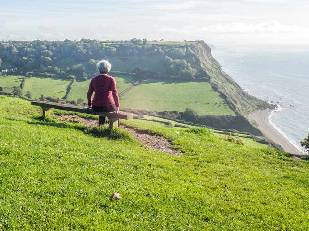 hiking the jurassic coast in england