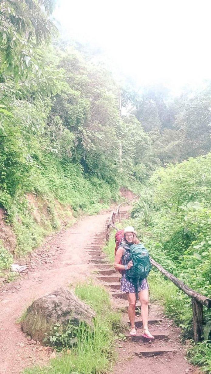 walking around guatemala