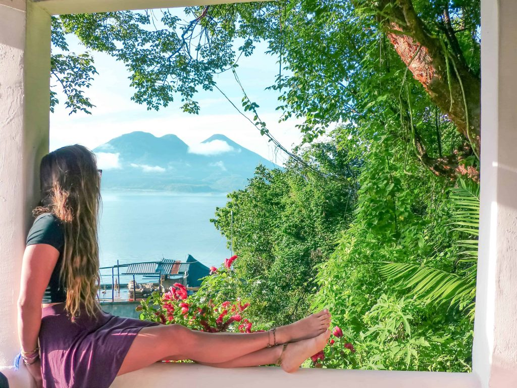 the view from lush atitlan hotel