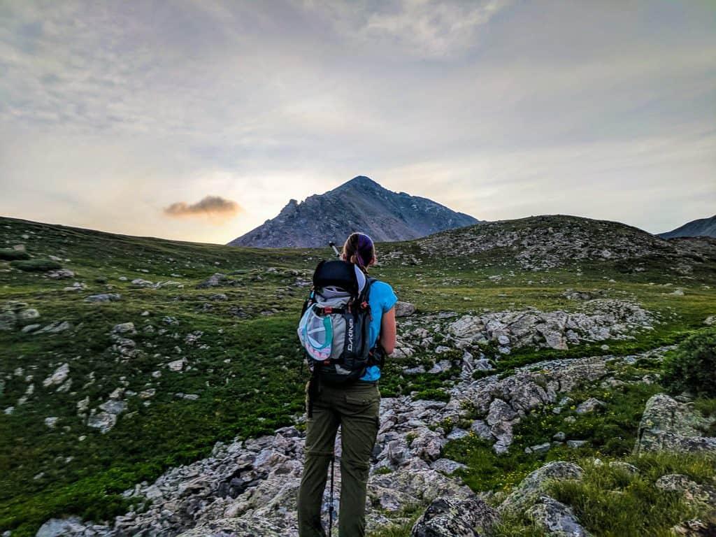 hiking in the tenmile range Colorado