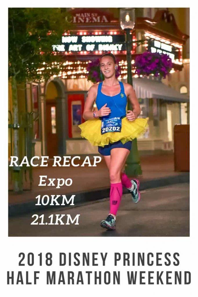 2018 Disney Princess Half Marathon Race