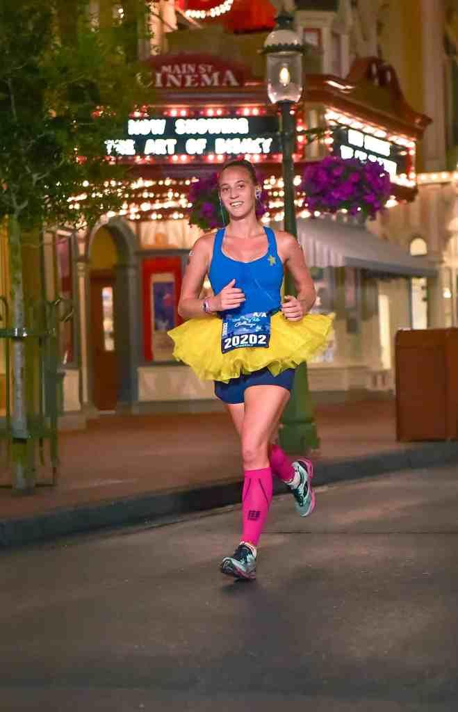 princess half marathon main street run