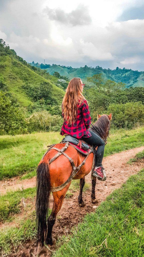 horseback riding in salento colombia cowboy culture