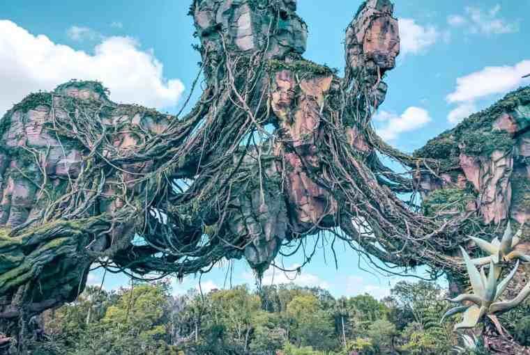 Floating mountains in pandora avatar