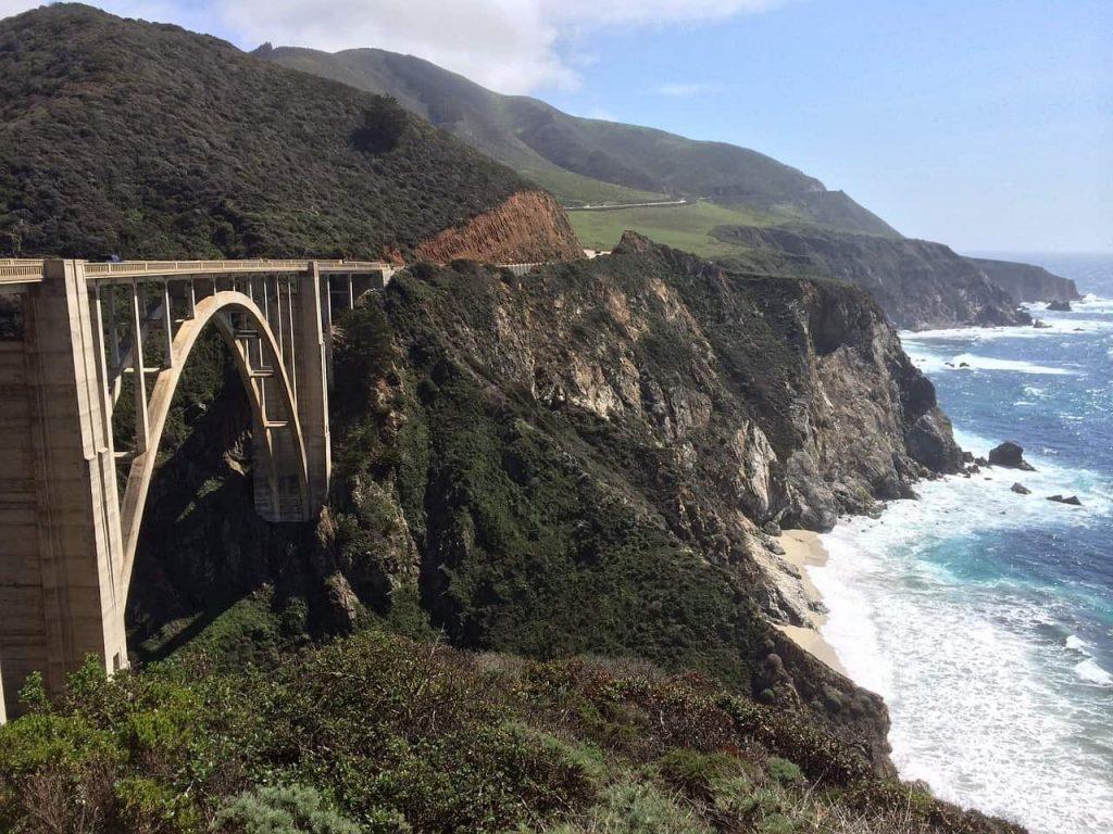 road tripping through big sur in california
