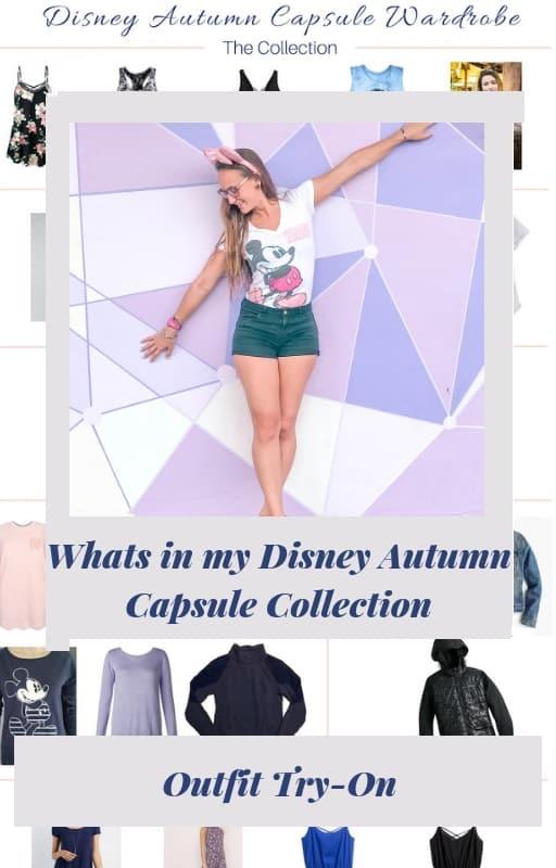 Disney Capsule wardrobe try on