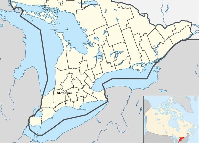 where is St. Thomas Ontario
