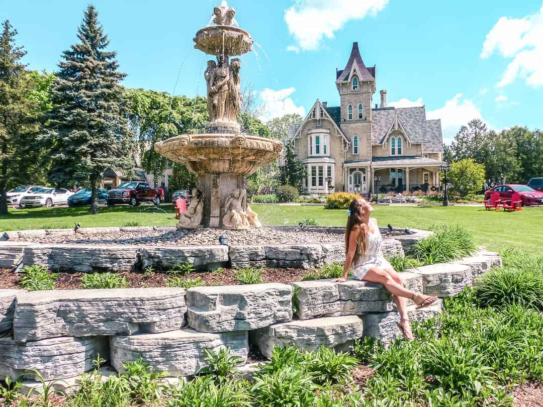 The Elm Hurst Inn and Spa in Ingersoll Ontario