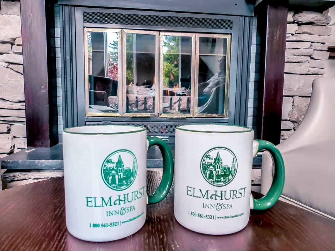 coffee at the Elm Hurst Inn and Spa