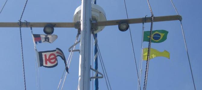 El Hierro bis Vitoria Brasilien 16.10.2011 bis 04.02.2012  3524 Seemeilen