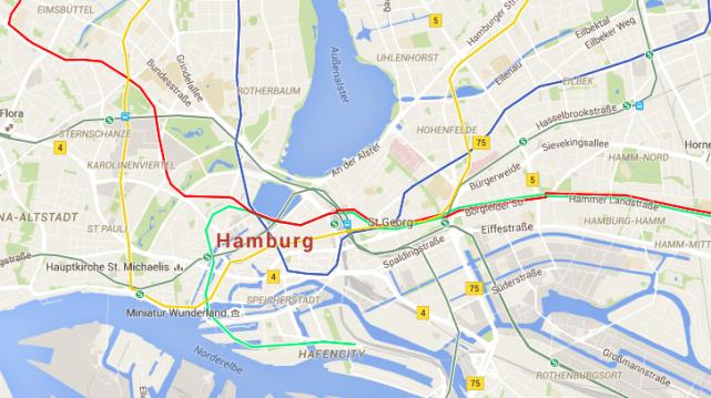travel tips - transit route google