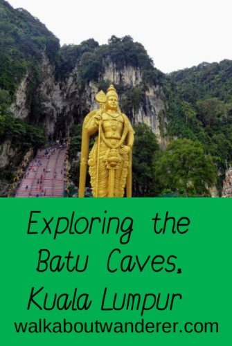 Batu Caves has the most visited Hindu temple outside of India inside. A must visit whilst in Kuala Lumpur. Keywords: KL sight seeing travel blogger traveller backpacking Thing to do KL