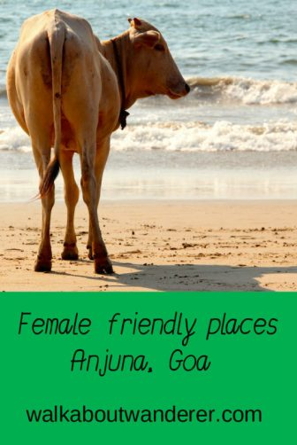 A post about female friendly places in Anjuna, Goa, India by Walkabout Wanderer. keywords: female safety, Anjuna Beach, places to visit Anjuna, Accommodation Goa, places to eat Goa,