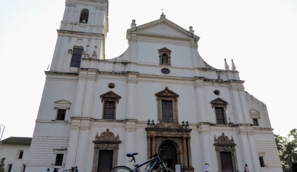 Riding Around the Cycle Tour of Old Goa