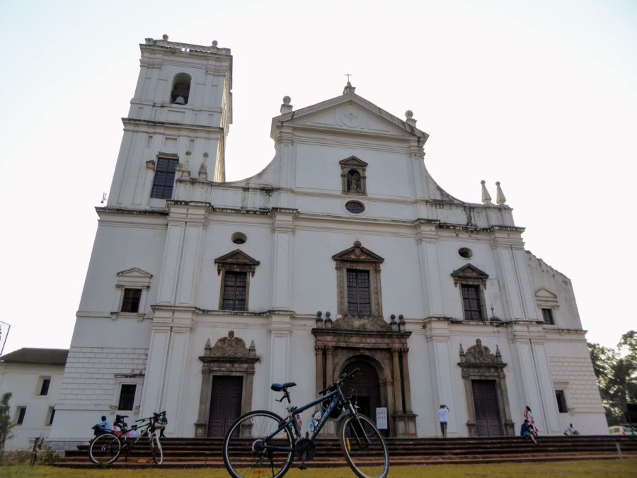 Riding Around the Cycle Tour of Old Goa
