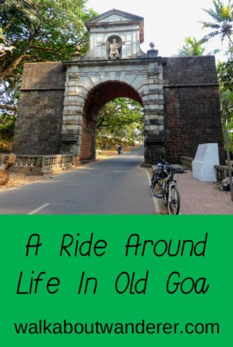 I had a great time cycling round Old Goa with Adventure Breaks. Keywords: Walkabout Wanderer, bike, cycle, sight seeing, traveller, travel blog, things to do Goa