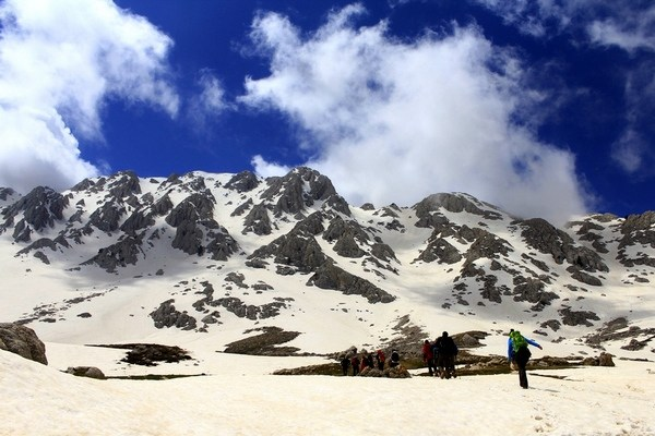 Mount Tunc Turkey: Sun, Sea, Sand and SNOW!