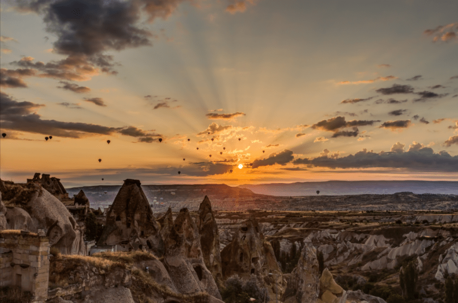 Balloon Ride In Cappadocia, Turkey