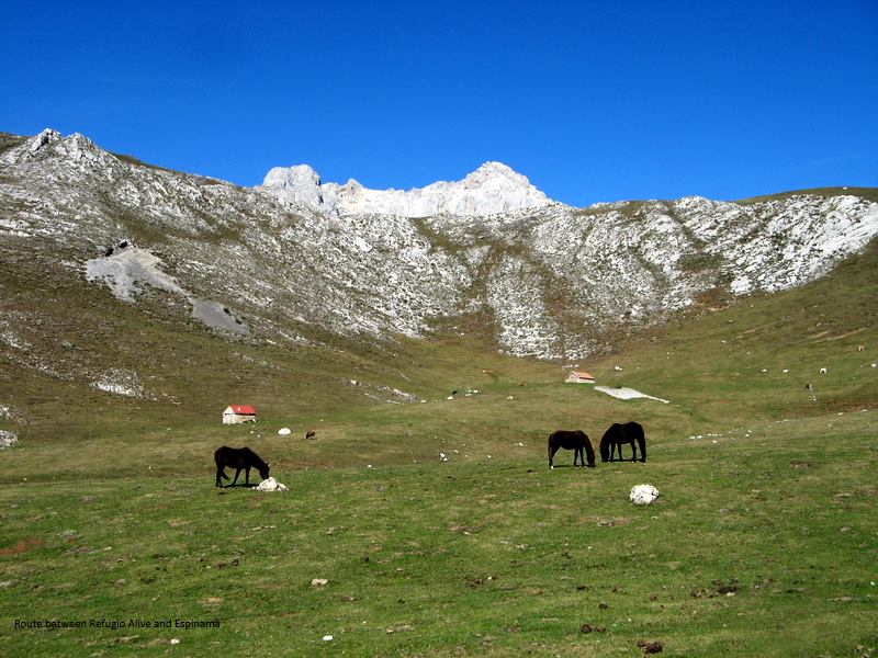Driving Picos de Europa National Park, Northern Spain