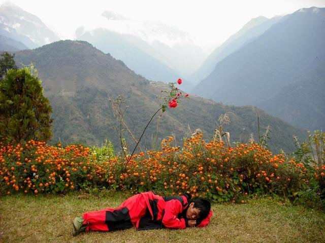 World Expeditions nepal best Annapurna Hike Kopra Ridge