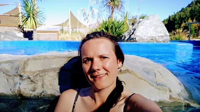 Tekapo hot Springs New Zealand South Island