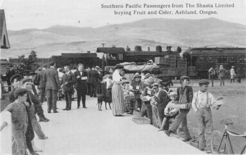 Ashland, railroad, Southern Pacific