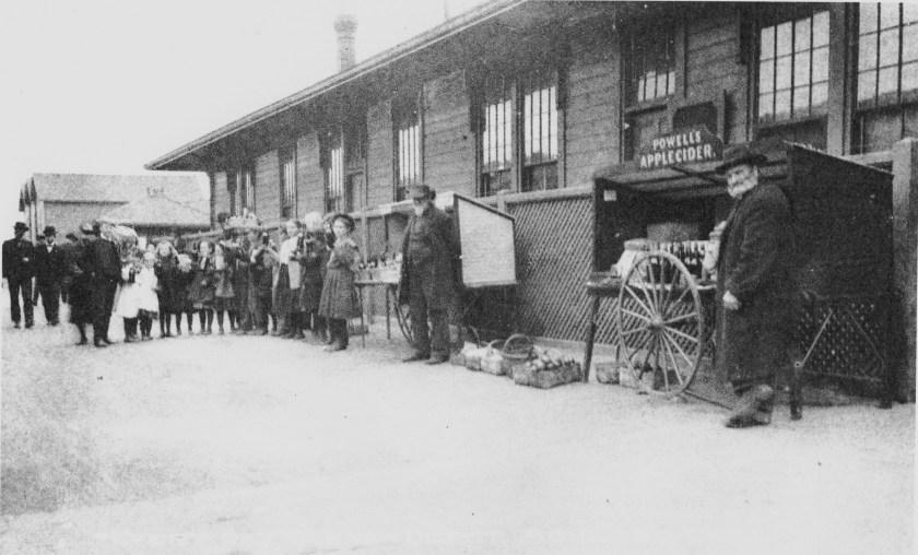 Ashland, railroad, Southern Pacific, William Powell