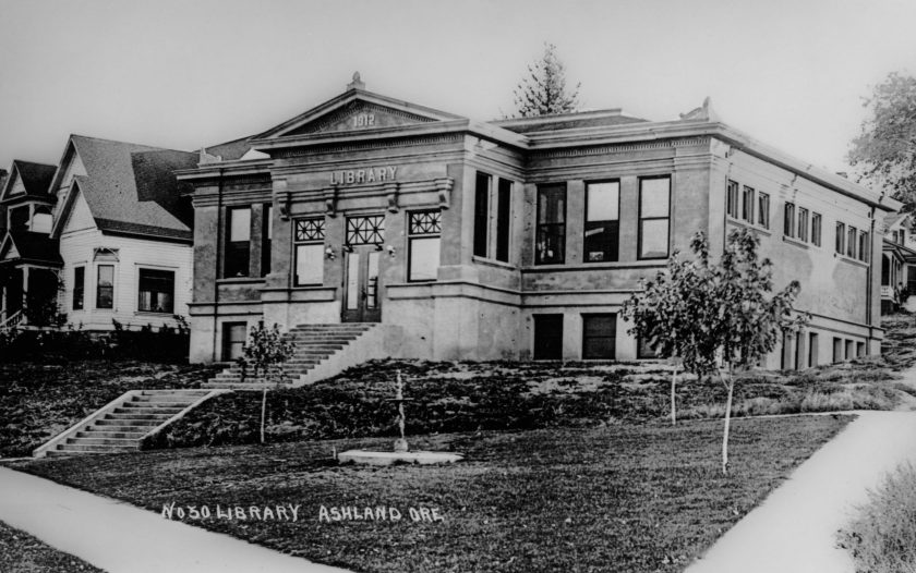 Ashland Library 1912, Carnegie library