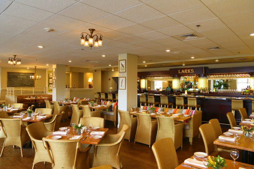 Larks Restaurant, Ashland Springs Hotel