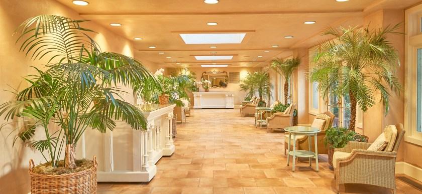 Ashland Springs Hotel conservatory