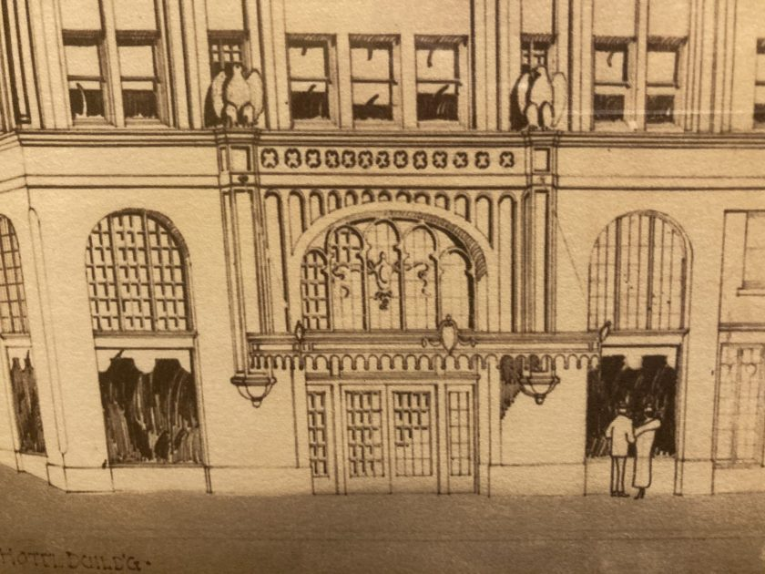 Ashland Springs Hotel 1924 architectural drawing