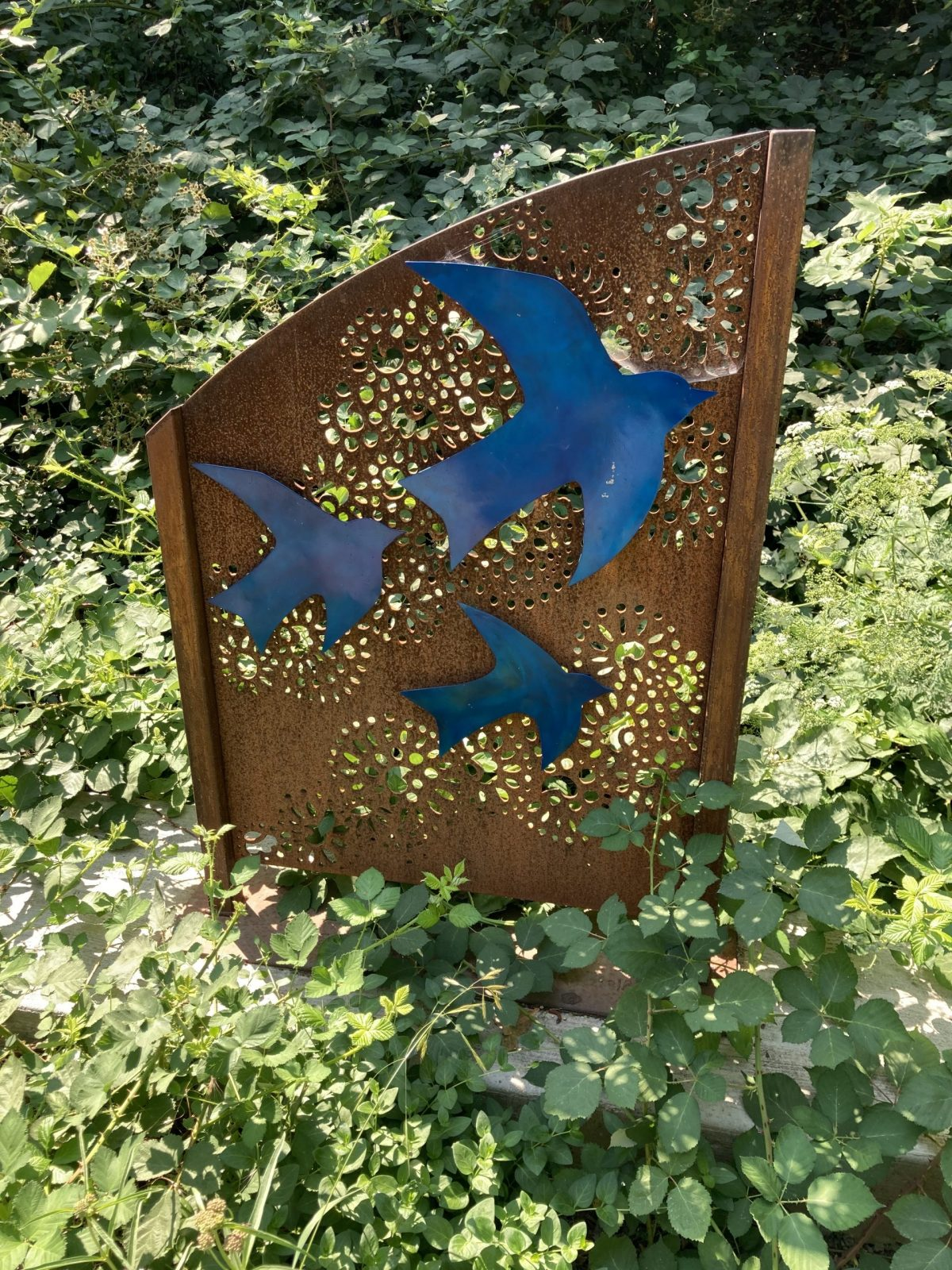 """Elevation"" – Art on Ashland's Bandersnatch Trail"