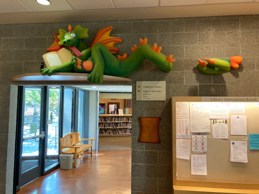 """Wilson the Dragon"" at Ashland Public Library"