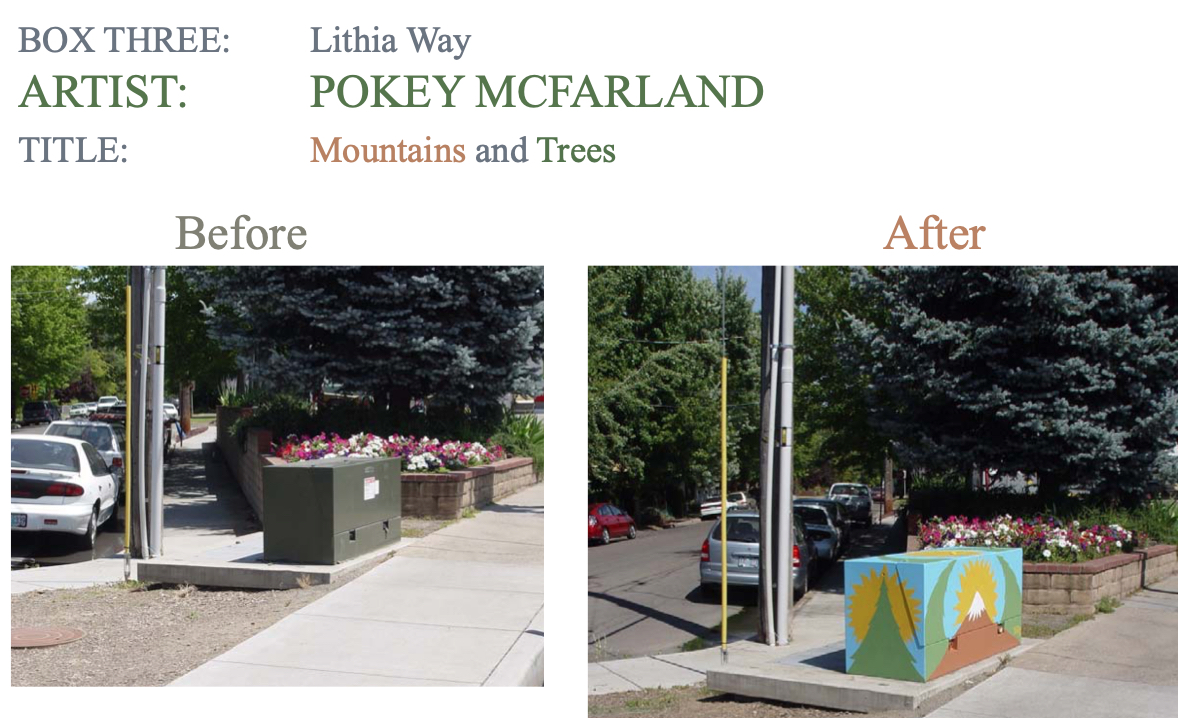 Painted Utility Boxes, Part 1 (2009)
