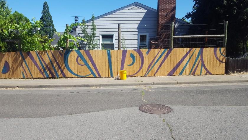 Kirk Lane and Fordyce Street, Ashland Oregon