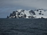Our first Antarctic land sighting - the South Shetland Islands